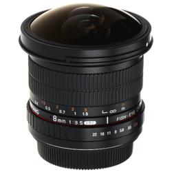 SAMYANG 8 mm f/3.5 UMC (Montura Canon) 1