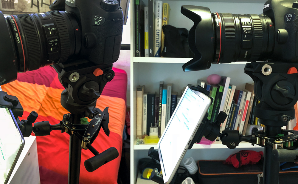 clampod-takeway-t1-ipad-Teleprompter
